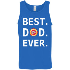 Best Kansas City Chiefs Dad Ever Fathers Day Shirt Mens Tank Top Mens Tank Top - PresentTees