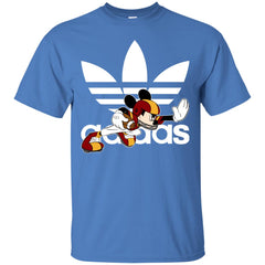 Adidas American Football Disney Mickey Mouse T-shirt Mens Cotton T-Shirt - PresentTees