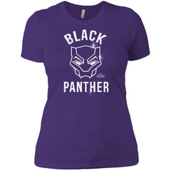 Marvel Black Panther Mask T Shirt Ladies Boyfriend T-Shirt - PresentTees