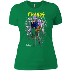 Thanos In Power - Marvel Infinity War Adult   Kid T Shirt Ladies Boyfriend T - 511c9b5d6