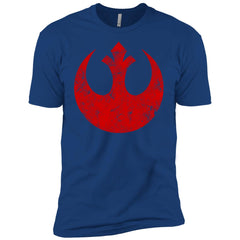Star Wars Big Red Rebel Alliance Distressed Logo Graphic Boys Cotton T-Shirt Boys Cotton T-Shirt - PresentTees