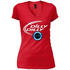 d2b18a578 Dilly Dilly Carolina Panthers Nfl Shirt For Men Women Kid Womens Vintage  V-Neck T