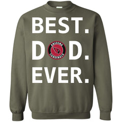 Best Arizona Cardinals Dad Ever Fathers Day Shirt Crewneck Pullover Sweatshirt Crewneck Pullover Sweatshirt - PresentTees