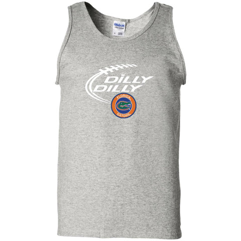 Dilly Dilly Florida Gators Shirts Ash / Small Mens Cotton Tank Top - PresentTees
