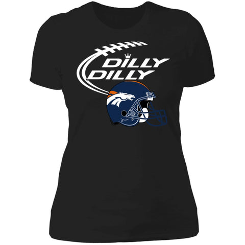 Dilly Dilly Denver Broncos Helmet Football Gift Women's Premium T-Shirt