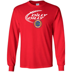 Dilly Dilly Florida Gators Shirts Mens Long Sleeve Shirt - PresentTees