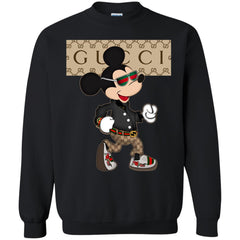 Gucci Shirt Mickey Mouse 2018 Crewneck Pullover Sweatshirt Crewneck Pullover Sweatshirt - PresentTees