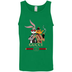 Gucci Trending T-shirt Rabbit And Donald Men Cotton Tank Men Cotton Tank - PresentTees
