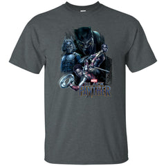 Marvel Black Panther Movie Okoye Nakia Group T-shirt Mens Cotton T-Shirt - PresentTees