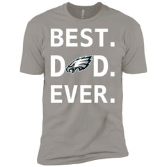 Philadelphia Eagles Dad Best Dad Ever Fathers Day Shirt Mens Short Sleeve T-Shirt Mens Short Sleeve T-Shirt - PresentTees