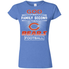 God First Family Second Then Chicago Bears Nfl Football Sweater
