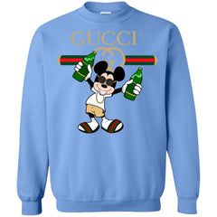 Gucci Mickey Mouse Top Trending T-shirt Crewneck Pullover Sweatshirt Crewneck Pullover Sweatshirt - PresentTees