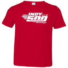 102nd Indy 500 Shirt - Indianapolis 2018 Toddler Jersey T-Shirt Toddler Jersey T-Shirt - PresentTees