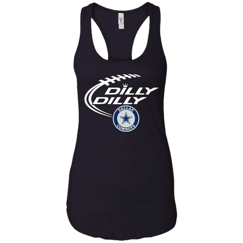 231f4a858 Dilly Dilly Dallas Cowboys Nfl Shirt For Men Women Kid Ladies Racerback Tank  Ladies Racerback Tank