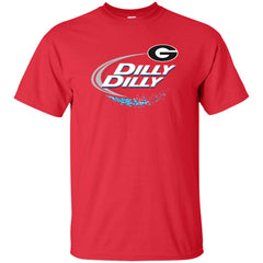 Dilly Dilly Georgia Bulldogs Nfl Mens Cotton T-Shirt Mens Cotton T-Shirt - PresentTees
