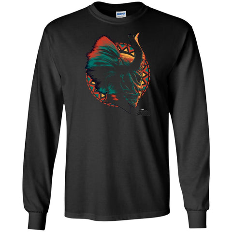 Kilmonger Mask T Shirt Black / Small Mens Long Sleeve Shirt - PresentTees