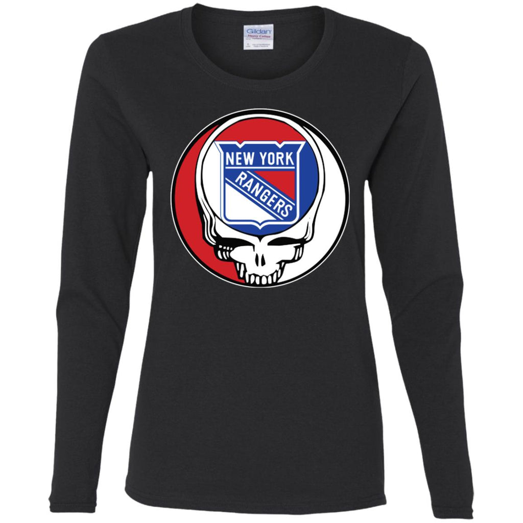 New York Rangers Grateful Dead Steal Your Face Hockey Nhl Shirts Women Long  Sleeve Shirt Women bc8321a2c0