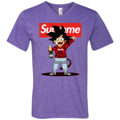 Supreme Songoku T-shirt Men V-Neck T-Shirt Men V-Neck T-Shirt - PresentTees