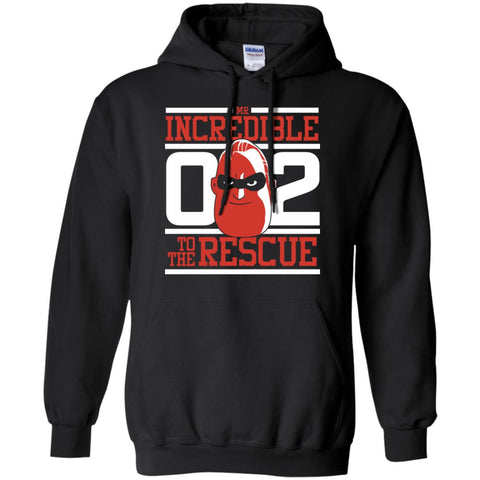 Incredibles2 Shirt - To The Rescue T Shirt Mens Pullover Hoodie Black / S Mens Pullover Hoodie - PresentTees