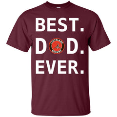 Best Cleverlan Browns Dad Ever Fathers Day Shirt Mens Cotton T-Shirt Mens Cotton T-Shirt - PresentTees