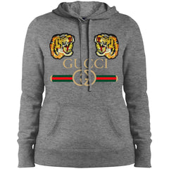 Gucci Tiger T-shirt Love Women Hooded Sweatshirt Women Hooded Sweatshirt - PresentTees