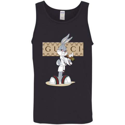 f8b9a6d43 Gucci Rabbit 2018 Perfect T-shirt Men Cotton Tank Black / X-Small Men