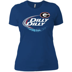 Dilly Dilly Georgia Bulldogs Nfl Ladies Boyfriend T-Shirt Ladies Boyfriend T-Shirt - PresentTees