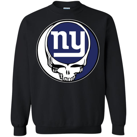 925d2c411b5 New York Giants Grateful Dead Steal Your Face Football Nfl Shirts Crewneck  Pullover Sweatshirt Black