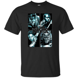 Marvel Black Panther Movie Grunge Warriors Shirt