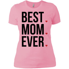Best Mom Ever Love Mothers Day Womens Cotton T-Shirt Womens Cotton T-Shirt - PresentTees
