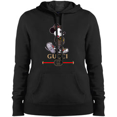 Gucci Mickey Kitty Beauty T-shirt Women Hooded Sweatshirt Women Hooded Sweatshirt - PresentTees