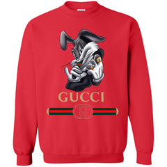 Gucci Rabbit Movie Disney T-shirt Crewneck Pullover Sweatshirt Crewneck Pullover Sweatshirt - PresentTees