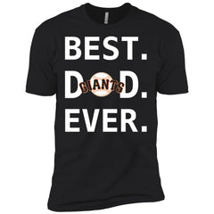 Best San Francisco Giants Dad Ever Baseball Fathers Day Shirt Mens Short Sleeve T-Shirt Mens Short Sleeve T-Shirt - PresentTees