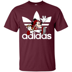 Adidas American Football Disney Mickey Mouse T Shirt