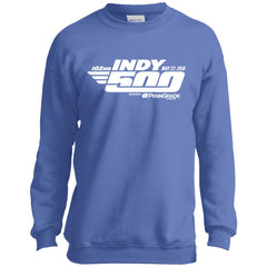102nd Indy 500 Shirt - Indianapolis 2018 Youth Crewneck Sweatshirt Youth Crewneck Sweatshirt - PresentTees