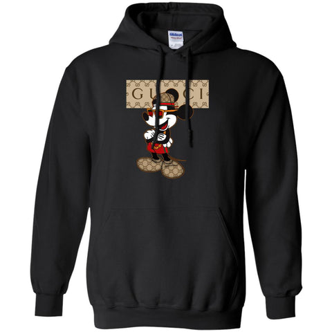 Gucci Mickey T-shirt So Baby 2018 Pullover Hoodie Sweatshirt Black / S Pullover Hoodie Sweatshirt - PresentTees