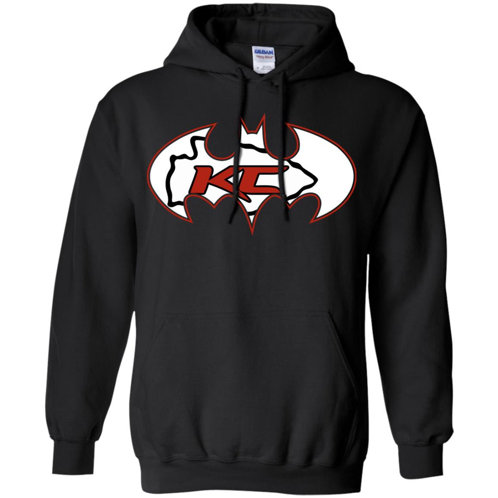 premium selection 532f0 abcec We Are The Kansas City Chiefs Batman Nfl Mashup Pullover ...