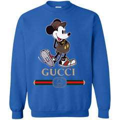 Gucci Mickey Kitty Beauty T-shirt Crewneck Pullover Sweatshirt Crewneck Pullover Sweatshirt - PresentTees