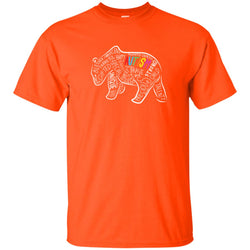 Autism Papa Bear T Shirt For Autism's Fahter