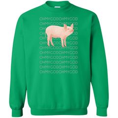 Shane Dawson Oh My God Pig T Shirt For Men And Women Crewneck Pullover Sweatshirt - PresentTees