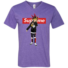 Supreme Yugi Mutou Game Yugioh T-shirt Men V-Neck T-Shirt Men V-Neck T-Shirt - PresentTees