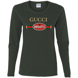 Gucci Bugatti T-shirt Women Long Sleeve Shirt