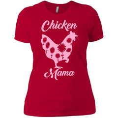 Chicken Mama Shirt For Mom Sister Antie Grandma Womens Cotton T-Shirt Womens Cotton T-Shirt - PresentTees