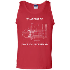 Funny Engineering T Shirt Mechanical Engineering T Shirt Mens Cotton Tank Top Mens Cotton Tank Top - PresentTees