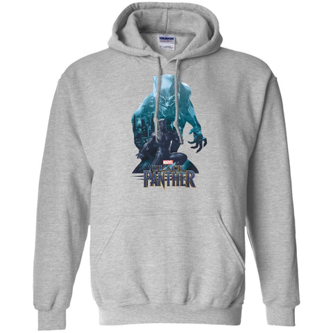 Black Panther Shirt Wakandas Finest Marvel T Shirt Sport Grey / Small Pullover Hoodie 8 oz - PresentTees