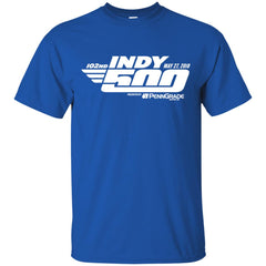 Indy 500 Shirt - Indianapolis 2018 Mens Cotton T-Shirt Mens Cotton T-Shirt - PresentTees