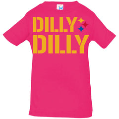 Dilly Dilly Logo Steelers Shirt Infant Jersey T-Shirt Infant Jersey T-Shirt - PresentTees