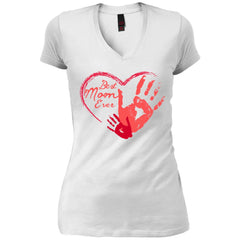 Best Mom Ever Worlds Best Mommy Womens V-Neck T-Shirt Womens V-Neck T-Shirt - PresentTees