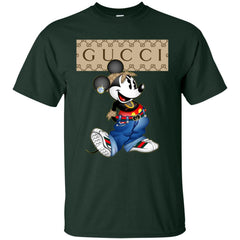Gucci Mickey Mouse Trending T-shirt Men Cotton T-Shirt Men Cotton T-Shirt - PresentTees