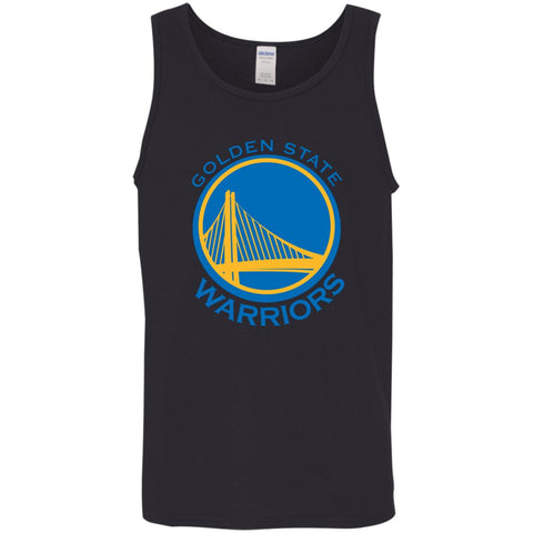 Golden State Warriors Mba Basketball Mens Tank Top Black / X-Small Mens Tank Top - PresentTees